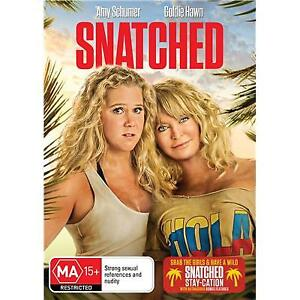 SNATCHED DVD, NEW & SEALED, 2017 RELEASE, REGION 4, FREE POST