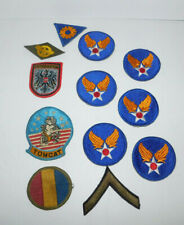 JOB LOT OF MILITARY PATCHES SOME VINTAGE INCLUDING A F-14 TOMCAT PATCH