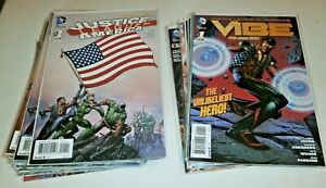 Justice League of America (V3 2013) #1-14, Vibe #1-10 100% COMPLETE Johns/Finch