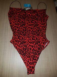 New Lepoard Body Suit Size 12-14