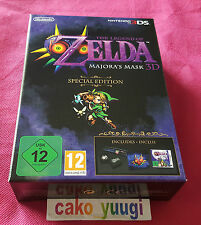 ZELDA MAJORA'S MASK SPECIAL EDITION NINTENDO 3DS VERSION 100% PAL EUROPE