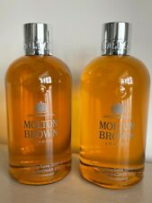 Molton Brown Suma Ginseng  Bath & Shower Gel 2 X 300 ml Brand New