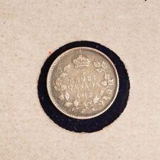 1912 Canada Silver 5 Cent - Inv# X214