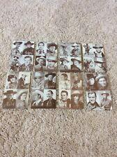 1930/40's Cowboy Arcade Cards 4 in 1 Lot of 8 Wayne, Blake 3x5