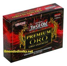 Yu-Gi-Oh! busta Premium Oro 3 - Oro Infinito 1a edizione italiano