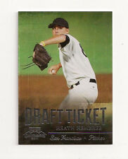 2011 HEATH HEMBREE Panini Contenders ROOKIE Draft Ticket #51/99 mint from pack