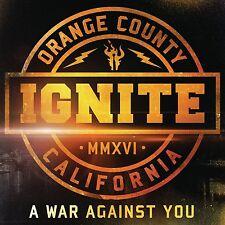 IGNITE - A WAR AGAINST YOU  CD LIMITED DIGIPACK + BONUS NEU