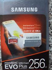 Samsung EVO 256 GB microSDXC Card