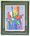 Cubist Still Life w/ Bottles 193 / 275 Lt. Ed. Unknown Artist (Picasso Protege?)