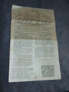 """APR. 15, 1945 USS MOUNTRAIL """"LEEWAY"""" WWII NEWSPAPER"""
