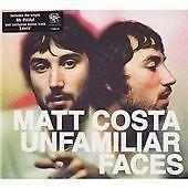 MATT COSTA  Unfamiliar Faces CD ALBUM  NEW - STILL SEALED