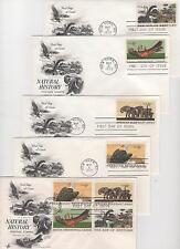 US FDC 1970 Year Set 31 First Day Covers All Artcraft cachets All Unaddressed |