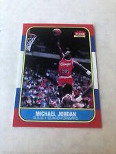 1986-87 Fleer Basketball #57 Michael Jordan RC Rookie Chicago Bulls