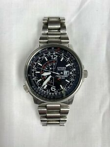 Citizen Eco-Drive Nighthawk WR200 Wrist Watch (Aviation)