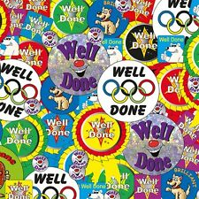CP16 - Pack of 781 Well Done Stickers School Rewards Primary Teaching Services