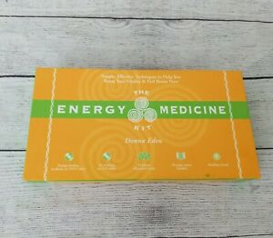 The Energy Medicine Kit by Donna Eden W/ Cards & Crystal Energy Healing