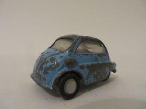 Spot-On Triang 1:42 Scale B.M.W. Isetta Blue Diecast Model Vintage RARE!!