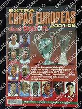 DON BALON EXTRA FUTBOL COPAS EUROPEAS 2001-02 CHAMPIONS LEAGUE - UEFA CUP