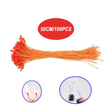100 pcs 19.68in Igniter Match Wire for Fireworks Firing System electric wire