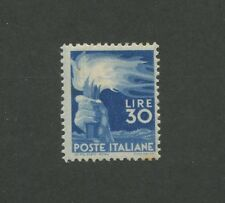 1948 Italy Hand Holding Torch 30l Postage Stamp #488