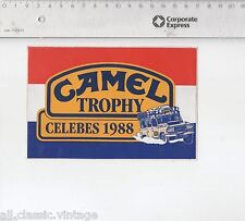 Decal/Sticker - Camel Trophy Celebes 1988