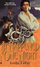 It Happened One Night by Leslie LaFoy