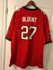 NFL Nike Tampa Bay Buccaneers LeGarette Blount #27 Jersey Men Size XL