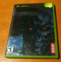 The Terminator Dawn of Fate Microsoft XBOX Atari Studio Canal Paradigm Teen