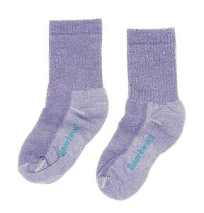 SmartWool Hike Medium Crew Lavender Socks Kids' Size Large 1320