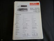 Original Service Manual  Nordmende SPECTRA PHONIC 4005 TANNHÄUSER