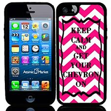 Pink Keep Calm and Get Your Chevron On For Iphone 6 Case Cover