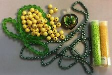 """GREEN GARDENS"" Bead Collection - Design Something Beautiful!"