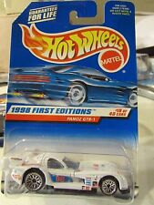 Hot Wheels Panoz GTR-1 1998 First Editions White