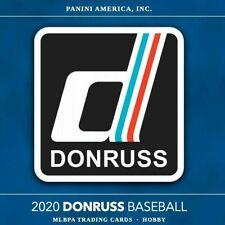 2020 Donruss Baseball - Base Cards #61 - #210 Complete Your Set