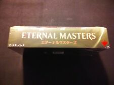 """Magic The Gathering: MtG Eternal Masters Booster """"JAPANESE"""" Box - Factory Sealed"""