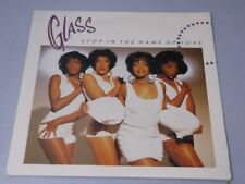 Glass:   Stop In The Name Of Love  EX+  UK  7""