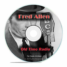 Fred Allen, Comedy, Music & Variety Shows, 849 Old Time Radio Shows, OTR DVD G44