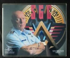 Official DON DAVIES Signed STARGATE SG1 10X8 Photo + CERTIFICATE Sci-Fi TV MGM
