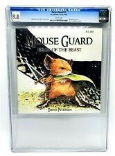 Mouse Guard #1 Rare ComiXpress Printing David Petersen - 1 of only 3 CGC 9.8