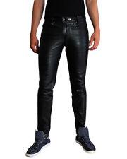 Slim-Fit-Herrenhosen aus Leder