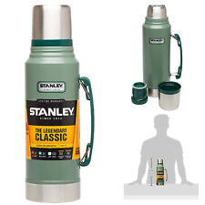 Stanley Classic Vacuum Bottle Stainless Steel Coffee Green Tea 1.1 Quart Thermos