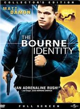 The Bourne Identity (Dvd, 2003, Full Frame, Collector's Edition) New