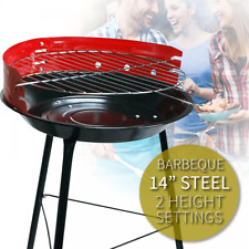 BBQ Grill Portable Barbecue Small Outdoor Steel Charcoal Patio Cooking Picnic