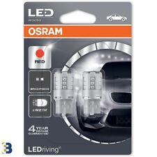 Osram W21W SC (T20) 582 12V W3x16d Ledriving Luz De Freno Led 7705R-02B Conjunto Rojo