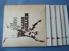 DARIO FO Mistero buffo - box originale 5 LP ottimo !!