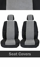 1+1 Front Seat Covers LUX Fabric Grey For VAUXHALL OPEL Vectra Zafira A B Agila