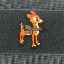 Tactical Outfitters - RUDOLPH MORALE PATCH - christmas reindeer santa saw m249