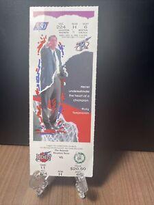 HOUSTON ROCKETS VS BOSTON CELTICS FULL UNUSED TICKET DECEMBER 4 1996
