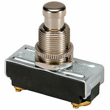 NTE 54-651 SPST Momentary Off/(On) Push-Button Switch