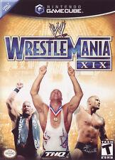 WWE WrestleMania XIX (2003) Brand New Factory Sealed USA Nintendo GameCube GC